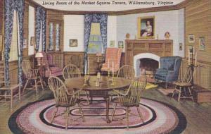 Virginia Williamsburg Living Room Of The Market Square Tavern