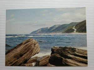 VTG Postcard Cap Rouge Cabot Trail Cape Breton Nova Scotia Canada   397