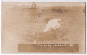 RPPC, Calgary Stampede 1912