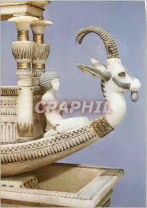 Modern Postcard Tutankhamun prow of a boat the alabaster