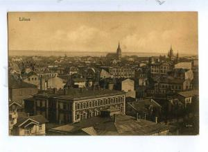 190799 WWI Latvia Liepaja LIBAU Vintage german military RPPC