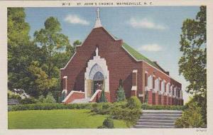 North Carolina Waynesville St Johns Church