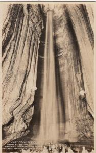 RP: CHATTANOOGA , Tennessee , 30-40s ; Ruby Falls , Lookout Mt Cave