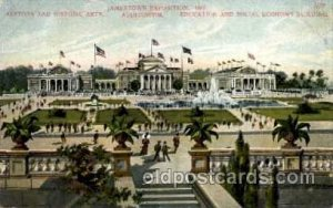 History & Historic Arts Jamestown Exposition 1907, Near Norfolk, Virginia, US...
