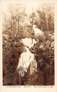 Marysville Victoria Australia scenic view Steavenson Falls real photo pc Z21030