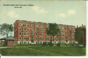 Hannibal Hamlin Hall, University Of Maine, Orono, Me.