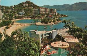 Postcard PAN AM Acapulco Mexico