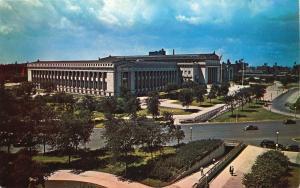 Chicago, Illinois, IL, Museum of Natural History, Chrome Vintage Postcard d5174