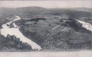 View From Neversink Mountain From Point Lookout Showing The Schuylkill Valley...
