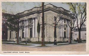 Michigan Flint Post Office 1917