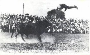 Pancho Villa and Braman Bull Cowboy Western Unused