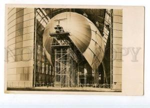 247227 GERMANY BAU LZ129 Hindenburg-class airship OLD photo PC