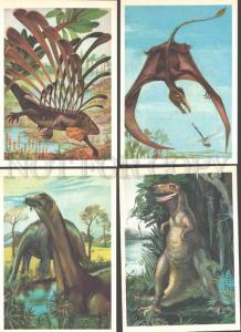 087719 Prehistoric Life DINOSAURS Collection of 16 cards #2
