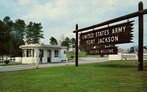 SC - Fort Jackson. Main Entrance