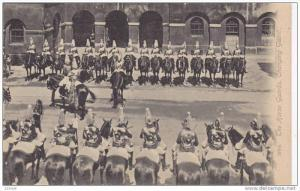 Ceremony, The Horse Guards, Changing Guard, London, England, UK, 1900-1910s