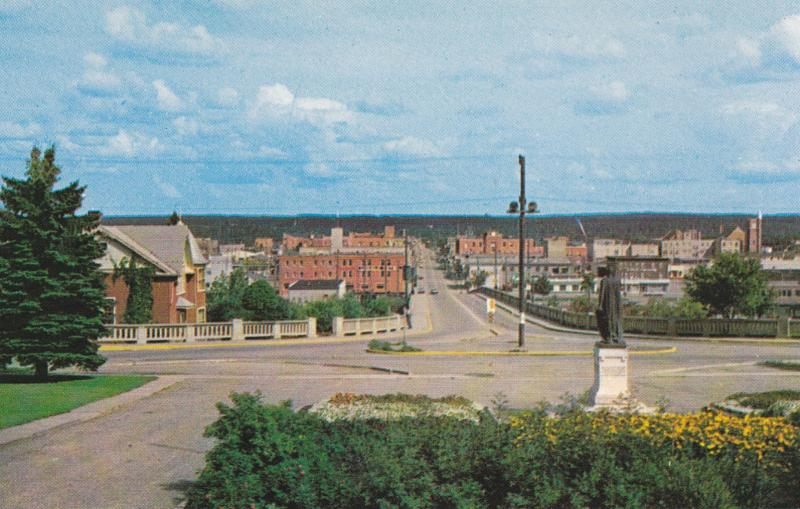 PRINCE ALBERT , Saskatchewan, Canada, 50-60s ; Central Avenue