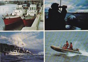 Canada Victoria Canadian Coast Guard Multi View