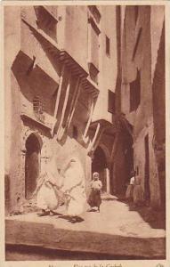 Une Rue De La Casbah, Alger, Algeria, Africa, 1900-1910s
