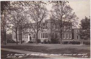 RP: School of Mines , ROLLA , Missouri , 30-40s ; U.S. Bureau of Mines Bldg