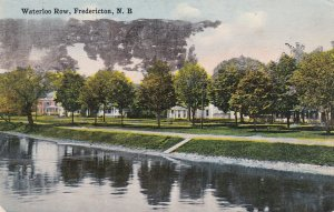 FREDERICTON, New Brunswick, Canada, 1918; Waterloo Row