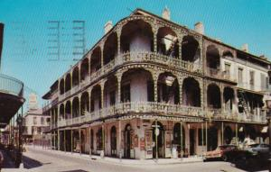 Louisiana New Orleans Lace Balconies 700 Royal Street 1957