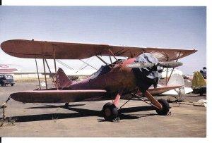 Waco VPF7 Byplane Postcard Card 82 PC107-6521