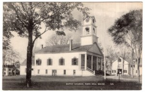 Paris Hill, Maine, Baptist Church