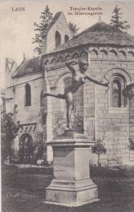 Templer-Kapelle im Museumgarten, LAON (Aisne), France, 1910-1920s