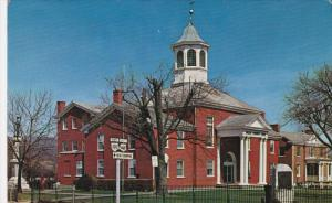 Giles County Courthouse, Built 1836, Pearisburg, Virginia 1940-60s