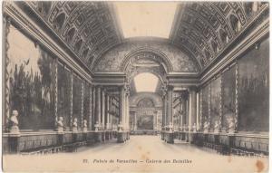 France, Palais de Versailles, Galerie des Batailles, unused Postcard