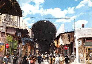 B95736 damascus damas syria stright street