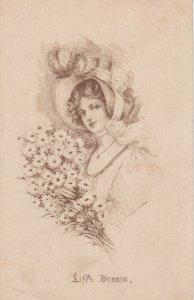 Woman portrait, Life's Dream,  PU-1917;