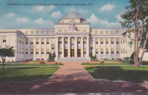 Library , University of South Carolina , COLUMBIA , S.C., 30-40s