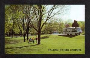 WV Falling Waters Campground Trailer Park WEST VIRGINIA
