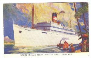 Great White Fleet Ocean Liner VERAGUA , United Fruit Company 20-30s