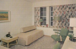 WEST LAFAYETTE , Indiana , 1950-60s ; Purdue University , THE UNION CLUB , room
