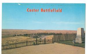 Custer Battlefield Monument, Montana, unused Postcard