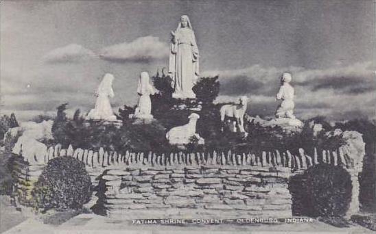 Indiana Oldenburg Fatima Shrine Convent  Albertype