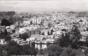 RP; MEXICO, Distrito Federal, Vista Panoramica, 30-50s