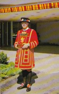 Canada Yeoman Of The Guard Beefeater Bayshore Inn Doorman Vancouver British C...