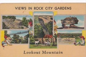 Tennessee Lookout Mountain Views In Rock City Gardens Curteich