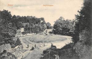 Trier Amphitheater Ruins Promenade