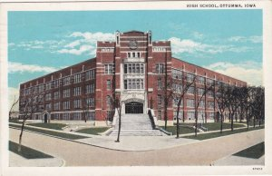 Iowa Ottumwa High School 1936 Curteich sk717