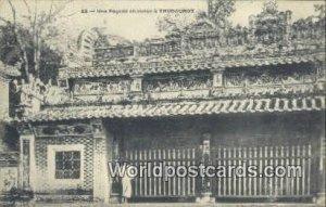 Une Pagode chinoise, Thudaumot Thudaumot Vietnam, Viet Nam Unused