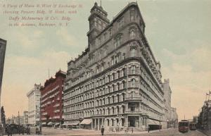 Powers Building of Four Corners - Rochester, New York - pm 1911 - DB