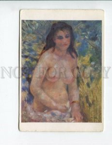 3154596 NUDE Woman in SUN by Auguste RENOIR vintage color PC