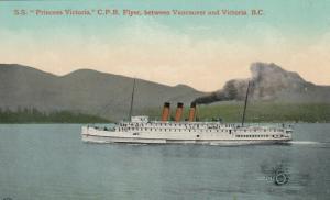 S.S. PRINCESS VICTORIA , C.P.R. Flyer , B.C. , Canada , 1900-10s