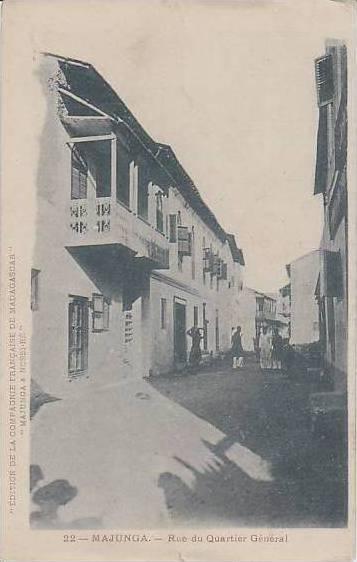 Madagascar Majunga Rue Du Quartier General