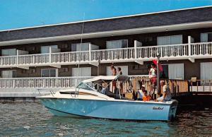 Clearwater Beach Florida Red Carpet Resort Waterfront Vintage Postcard K85885