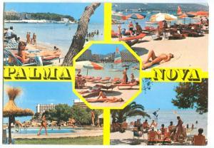Spain, PALMA NOVA, Mallorca, used Postcard